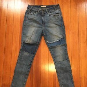 Levi's Patch Jeans